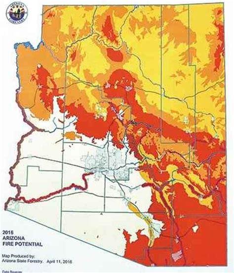 arizona sinkhole map arizona burning state officials warn of potentially