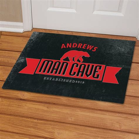 Cave Doormat by Personalized Cave Doormat Giftsforyounow