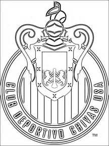chivas usa logo coloring coloring pages