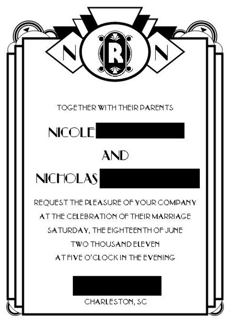 deco invitation templates diy invite template needed weddingbee