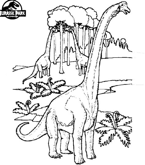 jurassic park  colouring pages dinosaur coloring pages