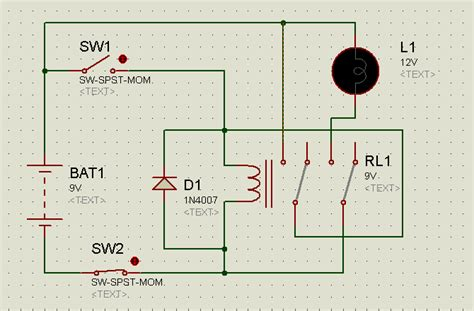 12 volt spst relay wiring diagram 33 wiring diagram
