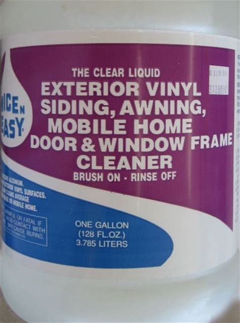 Sc Johnson Big Bare Heavy Duty Cleaner exterior window cleaner