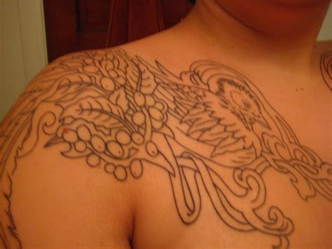 quetzal tattoo quetzal outline