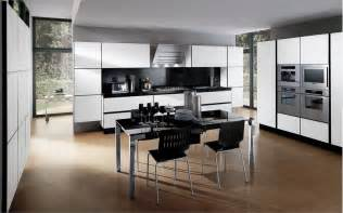 Decorating Ideas For And Black Kitchen 30 Black And White Kitchen Design Ideas Digsdigs