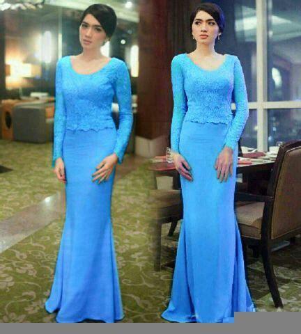 Baju Brukat Sabrina Wanita 1set model setelan baju kebaya brukat modern terbaru cantik murah