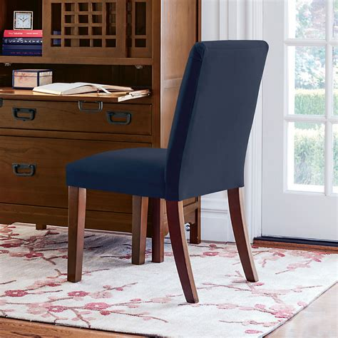 blue parsons chair parsons navy blue side chair gump s