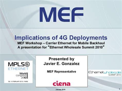 coglab 5 login implications of 4g deployments mef for mpls world