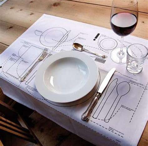 table setting etiquette placemats that teach you table etiquette