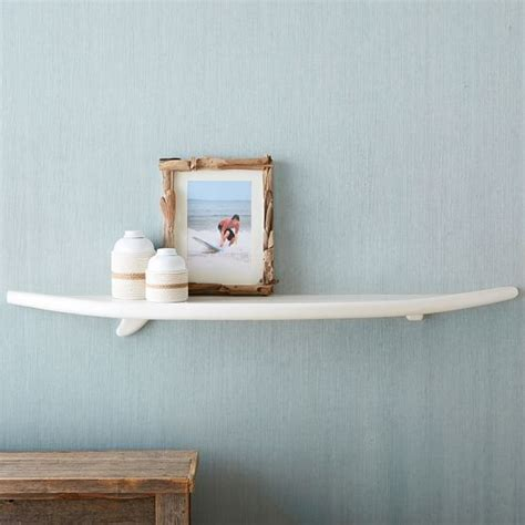 Pottery Barn Surfboard Shelf by Surf Shelf Pbteen