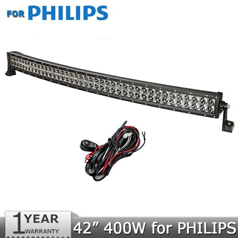 philips led light bar voor philips gebogen led light bar 42 inch 400w geleid