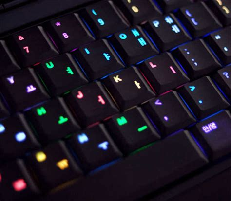Keyboard Laptop Led luxeed led rainbow keyboard disco on your desk