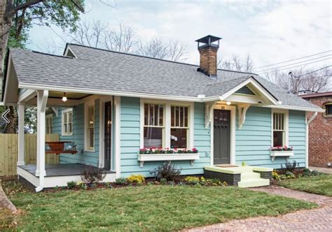 Ranch Remodel Exterior Eyesore No More An Old Cottage In Atlanta Gets A New Look