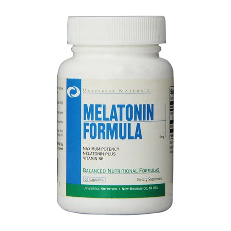 Formula 60 Caps melatonin formula 60 caps schlafunterst 252 tzung universal