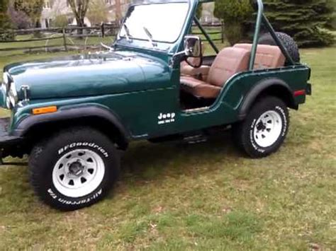 1979 Jeep Cj5 For Sale 1979 Jeep Cj5 304 V8 For Sale Malvern