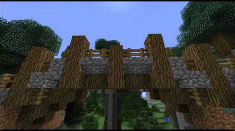 minecraft boat bridge minecraft tutorial how to build a medieval bridge youtube