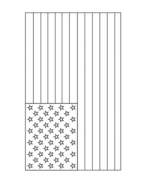 american flag free printable coloring pages