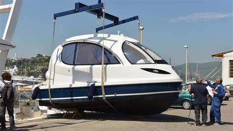 designboom jet capsule pierpaolo lazzarini invents a futuristic water jet capsule
