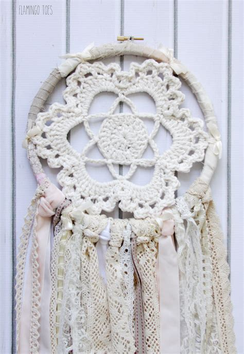 Dream Kitchen Ideas by Vintage Style Crochet And Lace Dreamcatcher