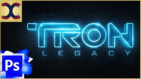template after effects tron legacy free how to create tron legacy text effect in photoshop youtube