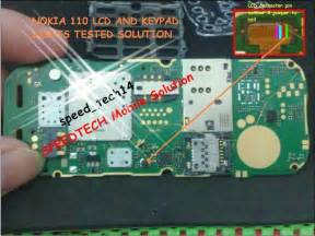 nokia 110 lcd light solution by jumpering all about mobiles