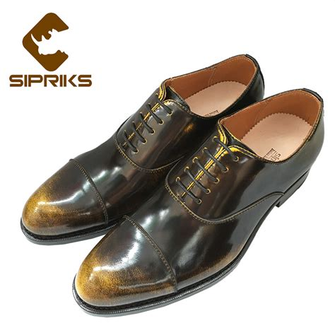 unique oxford shoes sipriks mens goodyear welted shoes vintage mens oxford