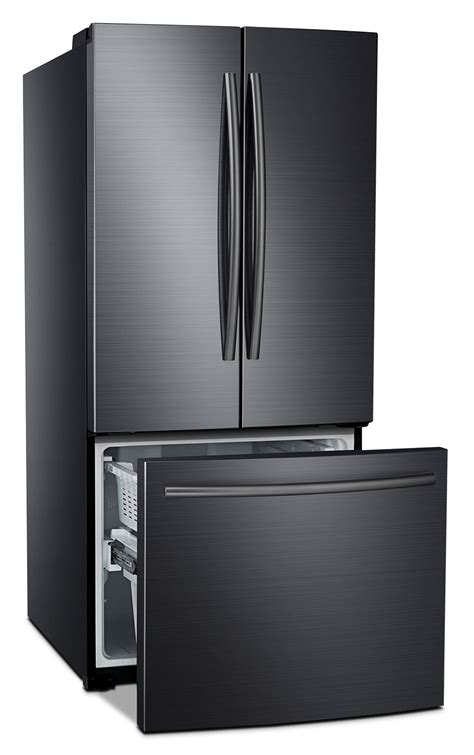 black samsung door refrigerator samsung black stainless steel door refrigerator 21