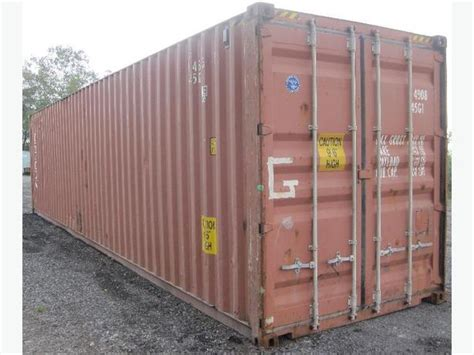 for sale used steel storage container 20ft 40ft montreal - Used Steel Storage Containers For Sale