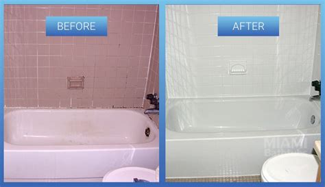 Professional Bathtub Refinishing Before Amp After Gallery Miami Bathtubs