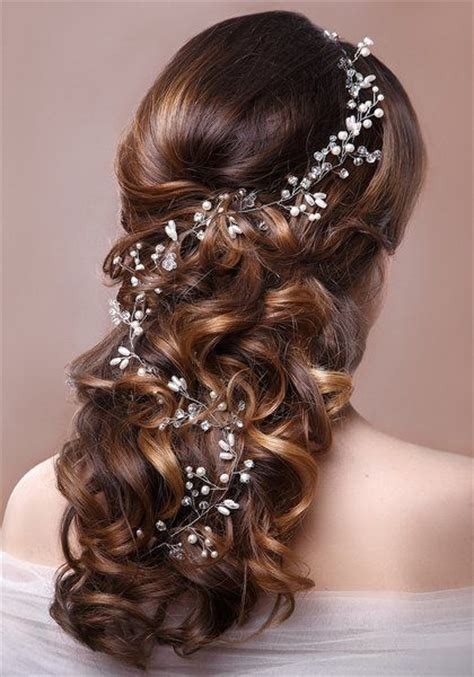 hairstyles with hair vines wedding hair vines for western brides ideas weddceremony com