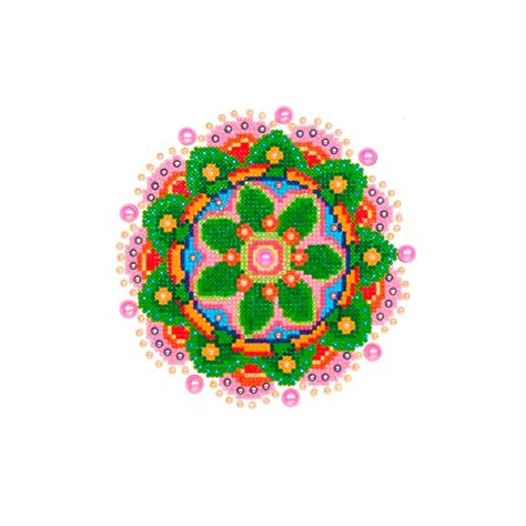 co fiorito kit painting 20x25 cm mandala fiorito perles co