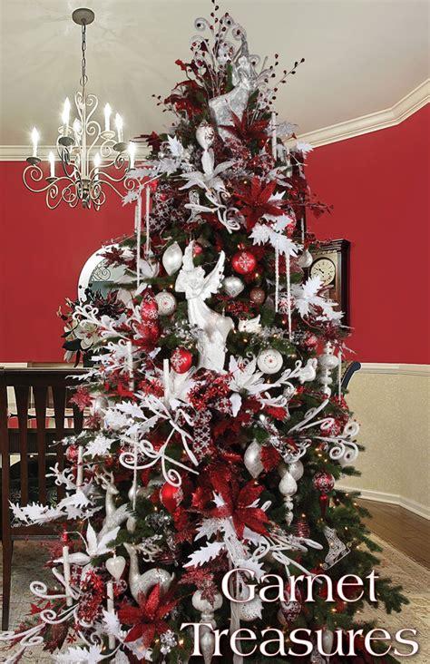 melrose designer christmas tree 2013 garnet treasures
