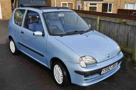 Fiat Seicento For Sale Fiat 2001 Seicento Sx Blue Car For Sale
