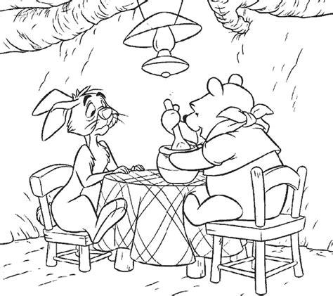 imagenes de un winnie pooh para colorear dibujos animados para colorear winnie the pooh para