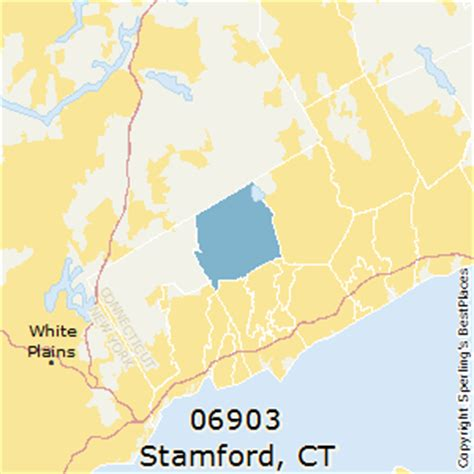zip code map ct best places to live in stamford zip 06903 connecticut