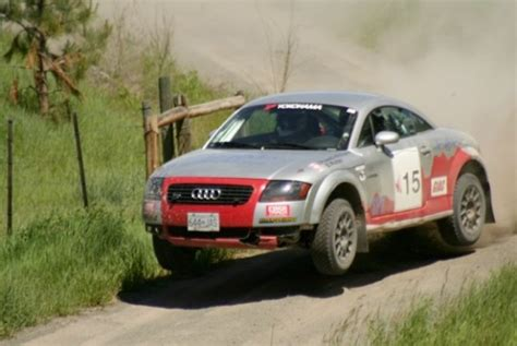 Audi Rally Car For Sale by 2002 Audi Tt Quattro Rally Car Bring A Trailer