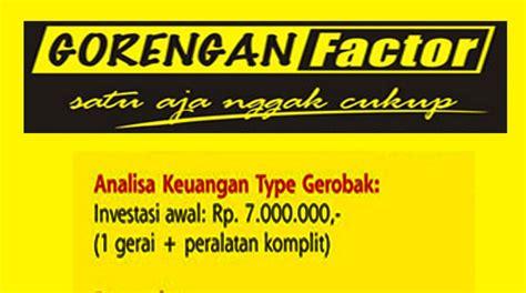 cinta indonesia franchise gorengan factor