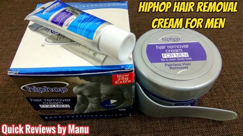 the best hair removal products for men livestrong com hiphop hair removal cream for men product review youtube