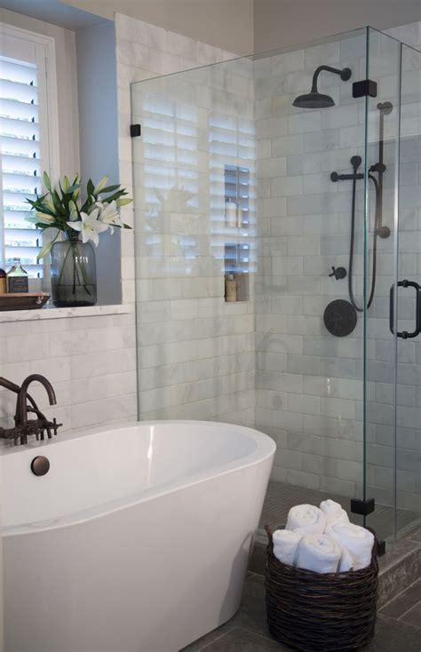 bathroom tub shower ideas freestanding or built in tub which is right for you