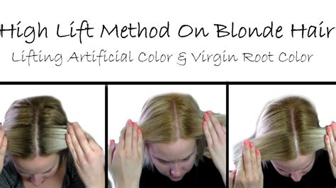 high lift color using highlift color to lighten artificial color