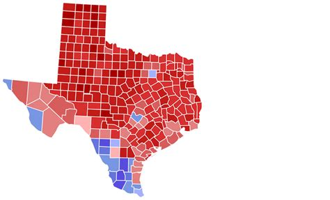 political texas map how texans are redefining what it means to be republican texas standard