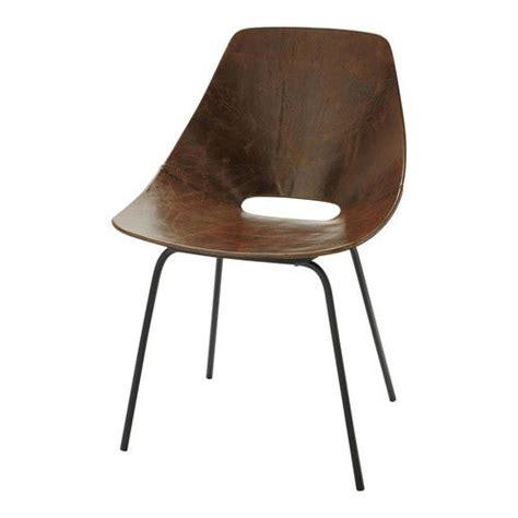 Chaise à Bascule Maison Du Monde by Cool Chaise Tonneau Cuir Vintage Marron Guariche With