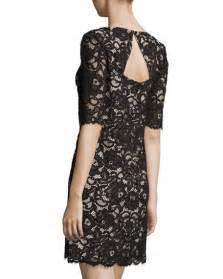 3 4 Sleeve Lace Sheath Dress kate spade new york 3 4 sleeve lace sheath dress