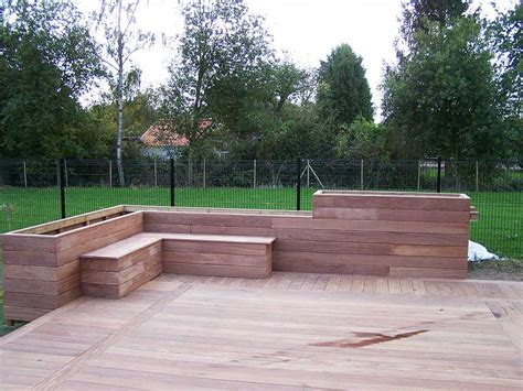 Banc Terrasse by Cr 233 Ation Terrasse Bois 224 Lille En Ip 233 59 Wood