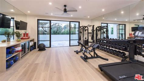 Hardwood Laminate 44 home gym design ideas for 2018