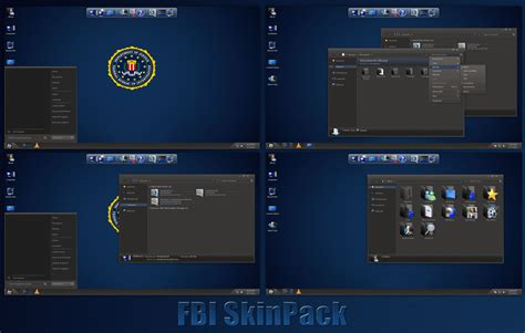 themes download cm fbi skinpack for windows 7 8 8 1 by thedhruv on deviantart