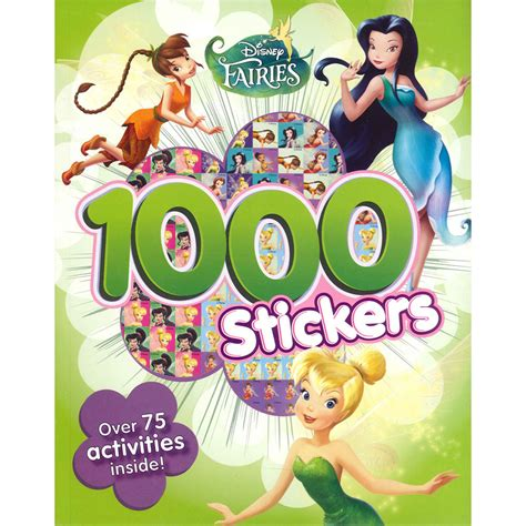 Disney Fairies Sticker Coloring Book disney fairies 1000 sticker book by parragon books cheap stickers at the works