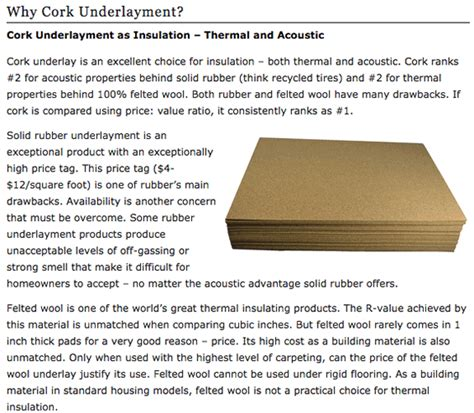 Does Cork Flooring Need Underlay by Does Cork Flooring Need Underlay