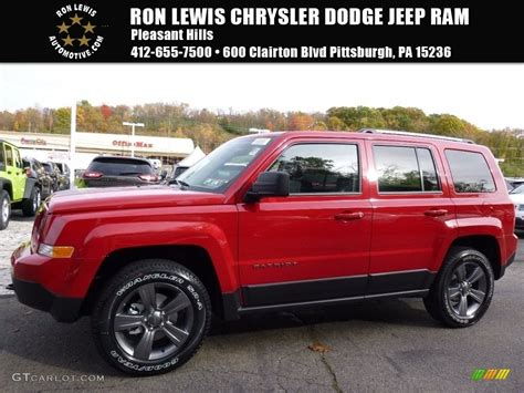 jeep patriot 2017 red 2017 deep cherry red crystal pearl jeep patriot sport se