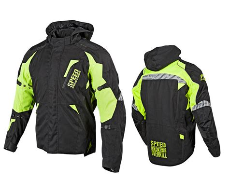 speed strength urge overkill textile speed and strength urge overkill textile hi viz jacket